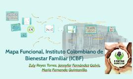 Mapa Funcional Instituto Colombiano de Bienestar Familiar (I