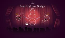 Copy of Basic Lighting Design