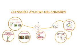 Copy of CZYNNOŚCI ŻYCIOWE ORGANIZMÓW