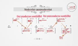 Modernitet-postmodernitet