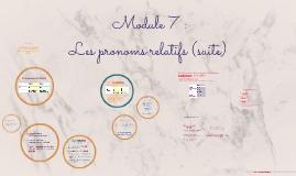 Copy of Module 7 :