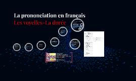 La prononciation en français, 2e partie
