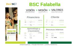 Copy of BALANCED SCORE CARD FALABELLA