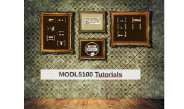 MODL5100 Tutorials