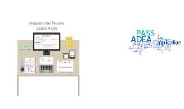 ADEA PASS 2015 cycle