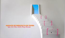 AVANCES DE PRROYECTO DE TESINA