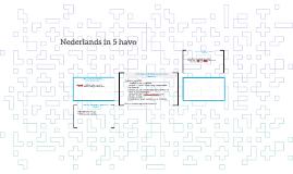 Nederlands in 5 havo