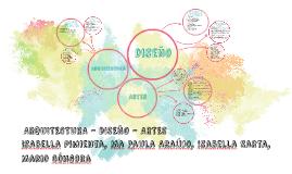 ARQUITECTURA – DISEÑO - ARTES