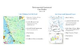 U of M EA Lecture - Case Studies
