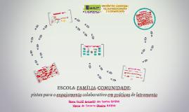 ESCOLA-FAMÍLIA-COMUNIDADE: