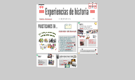 Experiencias de historia