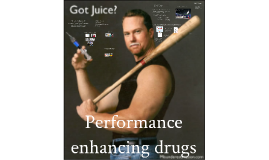 Lecture 10: Performance enhancing drugs