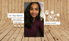 Copy of Free Template - A few things about me