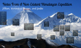 Copy of Copy of Notes From A Non-Existent Himalayan Expedition