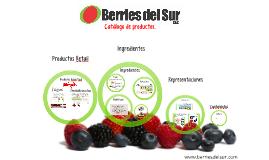 Catálogo Productos e ingredientes