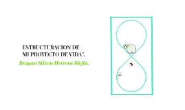 """ESTRUCTURACION DE MI PROYECTO DE VIDA""""."""