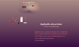 Radiațiile ultraviolete