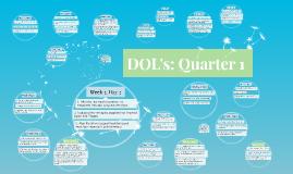 DOL's: Quarter 1