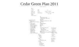 Cedar Green Plan 2011