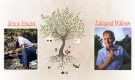 Biografía comparativa entre Edward Wilson y Terry Erwin