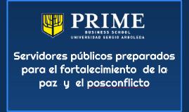 Servidores públicos preparados para el fortalecimiento  de l