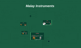 Malay Instruments by jin donghua