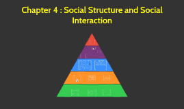 Chapter 4 : Social Structure and Social Interaction