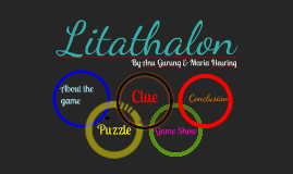 Litathalon: A Literary Terms Tournament