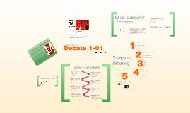 Debating 1-01
