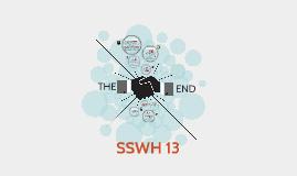 SSWH 13