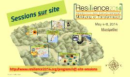 Resilience 2014_Off Site Sessions Presentation_Français