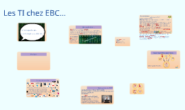 Copy of Direction Informatique - EBC