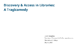 Discovery & Access