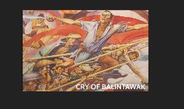 CRY OF BALINTAWAK