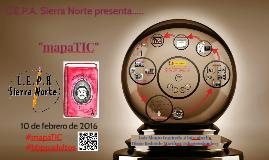 """""""mapaTIC"""". I Jornada de Buenas Prácticas en Educación para Adultos de Madrid"""