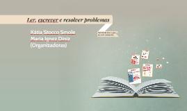 Ler, escrever e resolver problemas