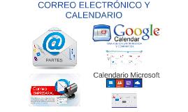 correo electrónico y calendario