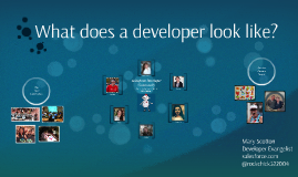 Copy of What does a developer look like?