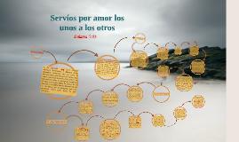 Copy of Servíos por amor los unos a los otros