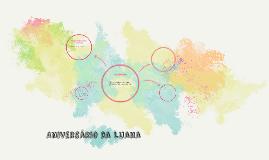 Aniversário da Luana