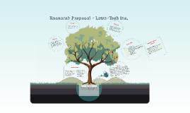 Research Proposal - Lawn-Tech Inc.