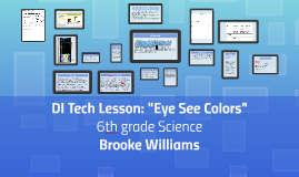 "DI Tech Lesson: ""Eye See Colors"""