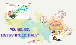 """PEC 3: """"EL ESTUDIANTE Y EL DOCENTE EN LÍNEA"""""""