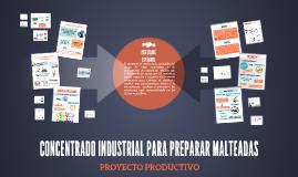 CONCENTRADO INDUSTRIAL PARA PREPARAR MALTEADAS