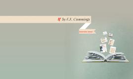 If by E.E. Cummings