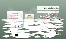 Geografiekskursjon