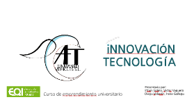 Copy of Copy of Copy of INNOVACIÓN