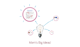 Mark's Big Ideas!