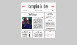 Corruption in Libya