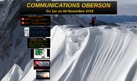 COMMUNICATIONS OBERSON